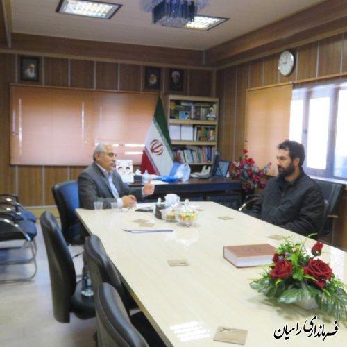 ملاقات عمومی و دیدارچهره به چهره فرماندار رامیان با مردم برگزار گردید