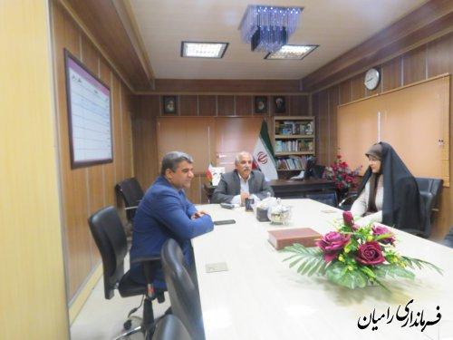 کار فرهنگی از اولویت های فرمانداری رامیان است