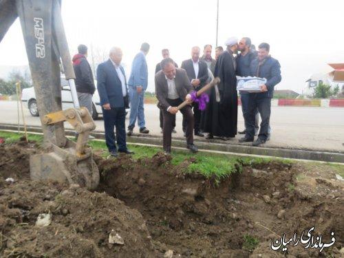افتتاح پروژه توسعه شبکه آبرسانی به باند شمالی شهر دلند