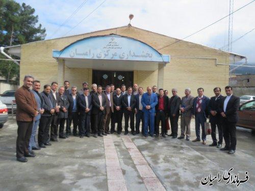 گردهمایی بخشداران استان گلستان در بخشداری مرکزی رامیان برگزارگردید