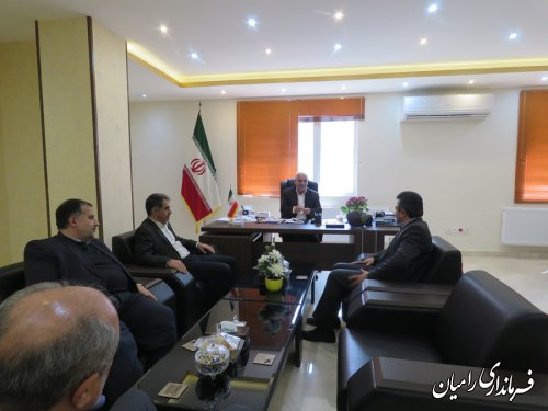 ملاقات عمومی و چهره به چهره فرماندار رامیان  با مردم شریف شهرستان رامیان برگزارگردید
