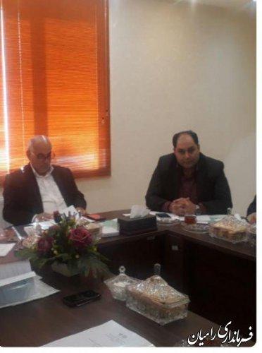 جلسه هماهنگی و بررسی و تشریح طرح توسعه اقتصادی و اشتغالزایی روستاهای هدف شهرستان رامیان برگزار گردید