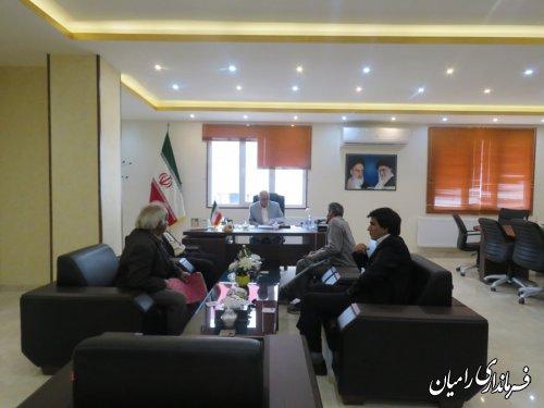 ملاقات عمومی و چهره به چهره فرماندار رامیان  بامردم شریف شهرستان رامیان برگزار گردید