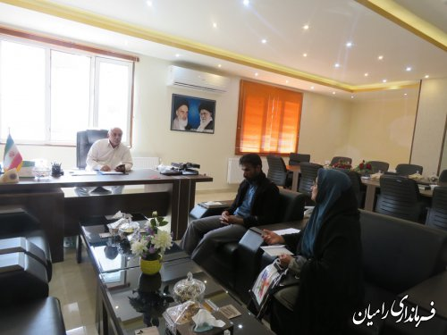 ملاقات عمومی و چهره به چهره فرماندار رامیان با مردم شریف این شهرستان برگزار گردید