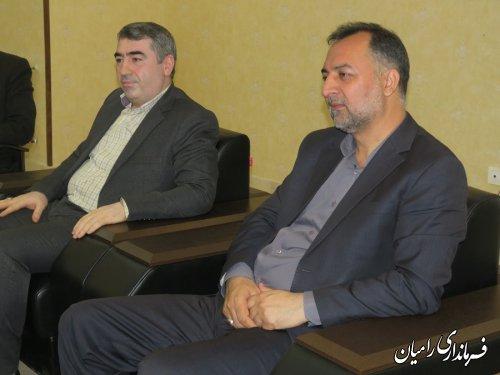 مراسم تودیع و معارفه ریاست کمیته امداد امام خمینی (ره)  شهر خان ببین برگزارگردید