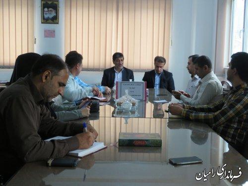 خبرنگاران شهرستان رامیان به مناسبت روز خبرنگار تجلیل شدند