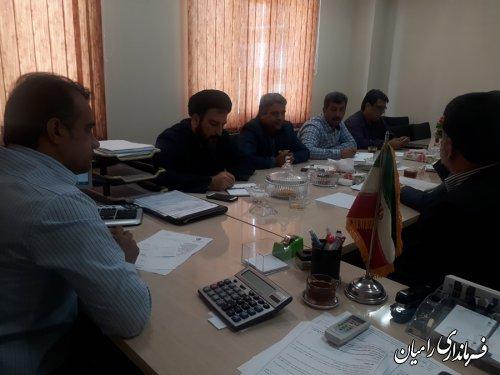 جلسه شورای هماهنگی ثبت احوال شهرستان رامیان برگزار گردید