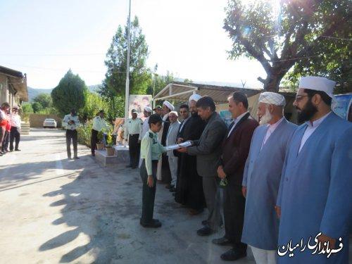 صبحگاه مشترک نیروهای انتظامی ونظامی به مناسبت هفته نیروی انتظامی برگزار گردید