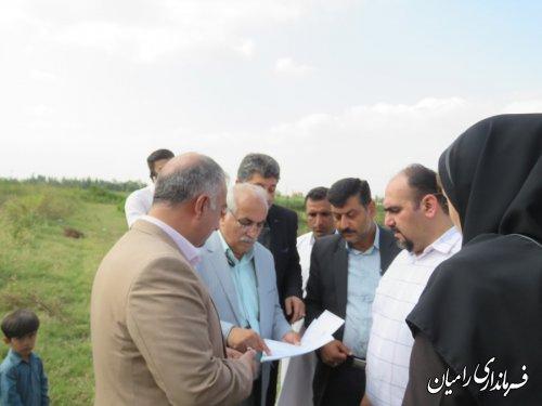فرماندار شهرستان رامیان از آغاز عملیات خاک برداری واجرا وساخت پروژه های جامع سلامت شهر خان ببین و روستایی رضا آباد فندرسک بازدید کردند.