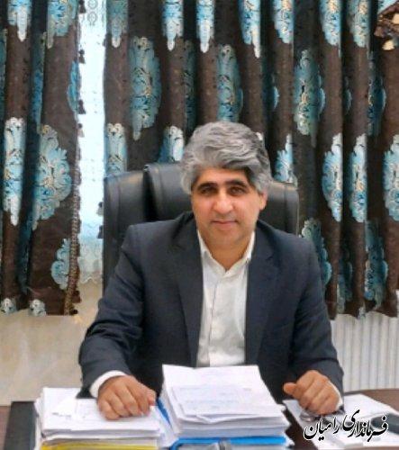 حمیدرضا چوبداری به عنوان سرپرست فرمانداری شهرستان رامیان منصوب شد
