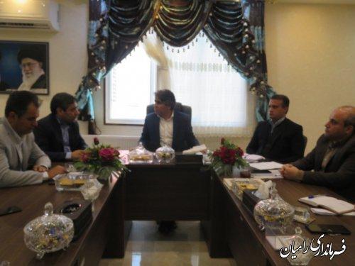 اعضای ستاد انتخابات یازدهمین دوره مجلس شورای اسلامی شهرستان رامیان منصوب شدند