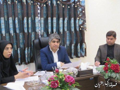جلسه کمیته فناوری اطلاعات اموراجرایی انتخابات شهرستان رامیان به ریاست فرمانداراین شهرستان برگزار گردید