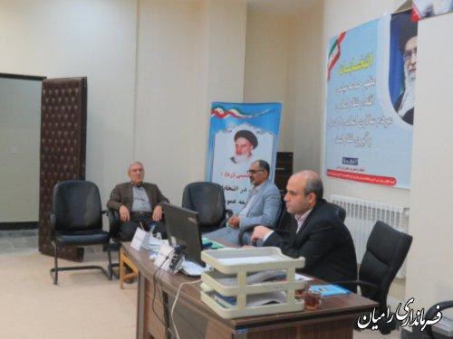 نام نویسی 4داوطلب نمایندگی مجلس طی سومین روز ثبت نام در شهرستان رامیان