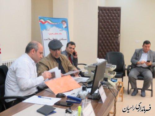 هفتمین روز ثبت نام از داوطلبان یازدهمین دور ه مجلس شورای اسلامی16نفر و مجموعا تعداد 48نفر درحوزه انتخابیه رامیان- آزادشهر و بخش های فندرسک و چشمه ساران ثبت نام کردند