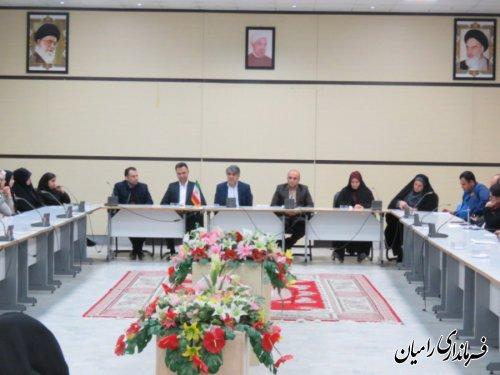 نشست فرماندار رامیان با کاربران انتخابات یازدهمین دوره مجلس شورای اسلامی