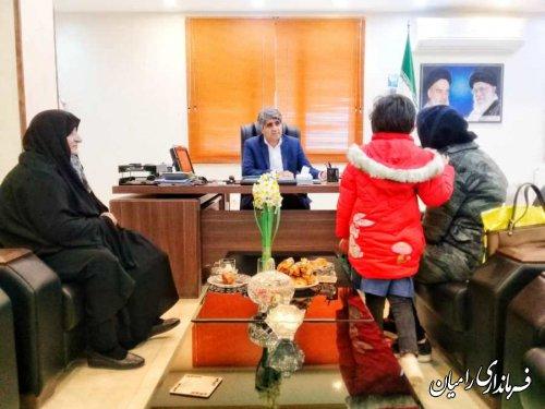 دیدار مردمی فرماندار رامیان