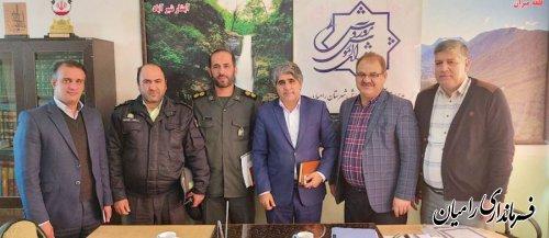 جلسه شورای آموزش و پرورش شهرستان به ریاست فرماندار شهرستان رامیان برگزار شد.