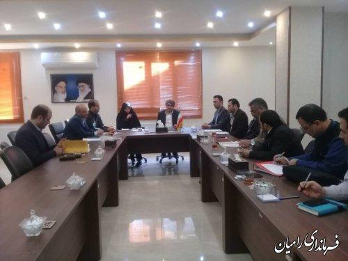 تشکیل جلسه کمیته فناوری اطلاعات یازدهمین دوره انتخابات مجلس شورای اسلامی شهرستان