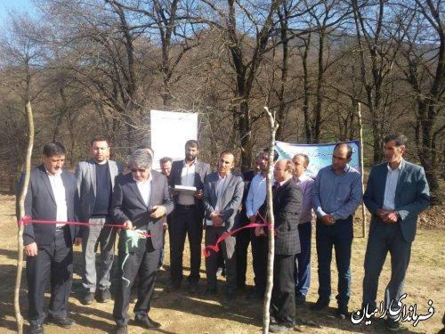 افتتاح پروژه ۳۰۷۶ میلیون ریالی آبندان روستای نقی آبادفندرسک