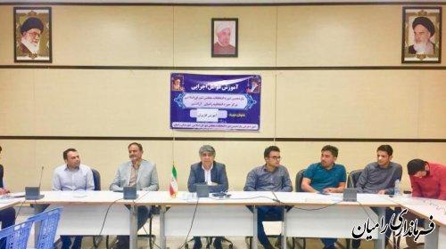 فرماندار رامیان؛ مشارکت در انتخابات مشارکت در ساختن آینده است.