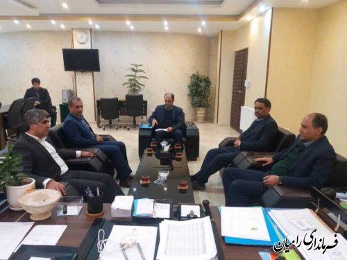 فرماندار رامیان در نشست با مدیرعامل برق گلستان؛ برنامه ریزی برای ارتقا شاخص ها صورت گرفته است