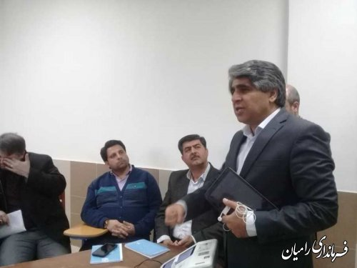 فرماندار رامیان: از دستاوردهای مهم نظام، تعیین سرنوشت مردم به دست خودشان است