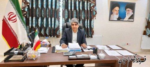 تقدیر مدیر کل حفاظت محیط زیست  از حمیدرضا چوبداری فرماندار شهرستان رامیان