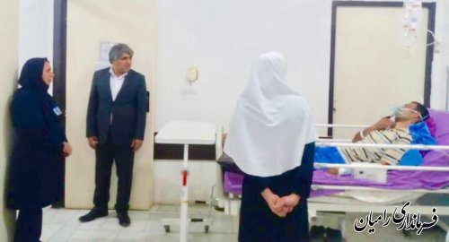 طی بازدید فرماندار رامیان از بیمارستان خان ببین؛ سطح کیفی خدمات پزشکی باید ارتقا پیدا کند