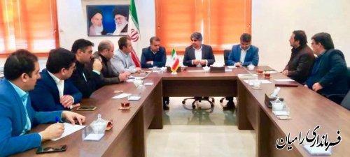 فرماندار رامیان؛  همه امکانات برای برگزاری انتخابات فراهم شده است