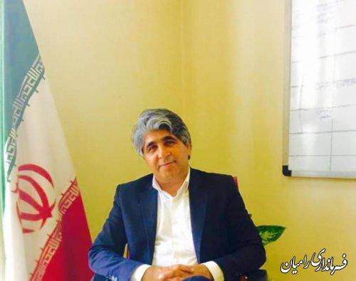 فرماندار رامیان؛ همه شرایط برای مشارکت حداکثری مهیاست
