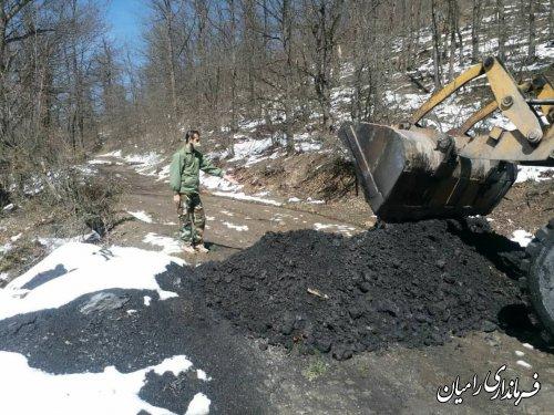 بسته شدن راه های ورودی به تفرجگاه های جنگلی سطح شهرستان رامیان
