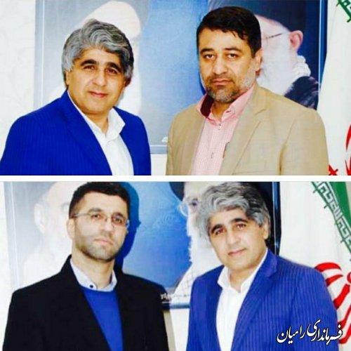 پیام تقدیر و تشکر فرماندار شهرستان رامیان از همکاری دستگاه قضایی شهرستان