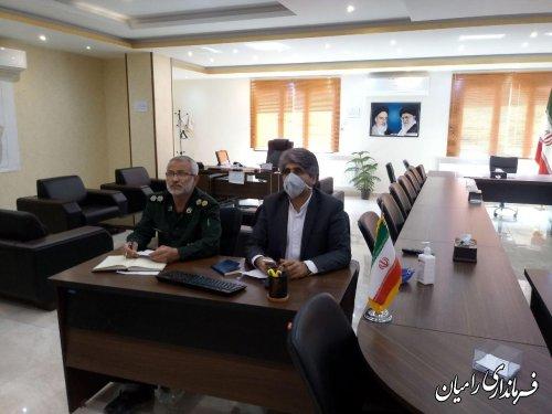 برگزاری جلسه ویدوئو کنفرانس شورای هماهنگی آثار و نشر ارزش های دفاع مقدس استان گلستان