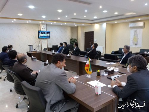 برگزاری اولین جلسه شورای اداری استان در سال 99 با حضور دکتر هادی حق شناس استاندار محترم گلستان