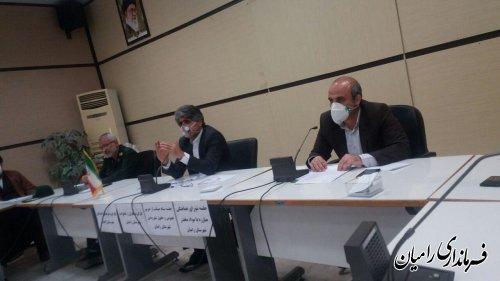 برگزاری اولین جلسه کارگروه فرهنگی و اجتماعی شهرستان در سال جدید