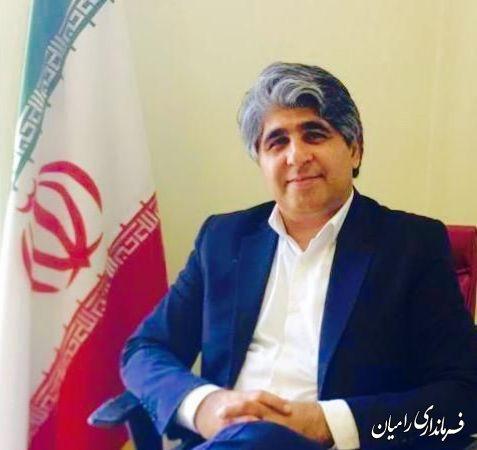 فرماندار رامیان در پیامی، فرارسیدن هفته کار و کارگر را تبریک گفت