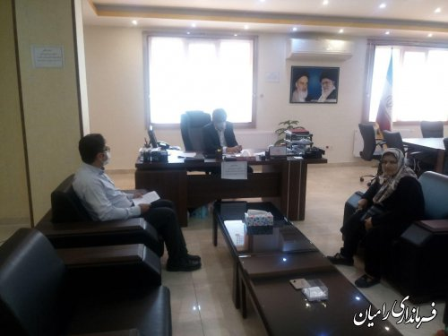 ملاقات عمومی فرماندار رامیان با مردم شریف این شهرستان برگزار گردید