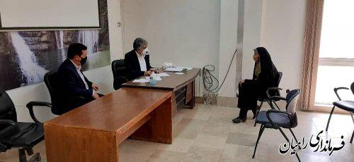 ملاقات عمومی فرماندار رامیان با مردم شریف بخش فندرسک در محل بخشداری