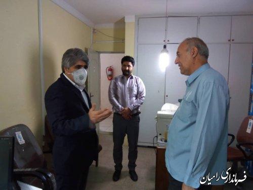 بازدیدفرماندار رامیان از اداره تعاون،کار و رفاه اجتماعی