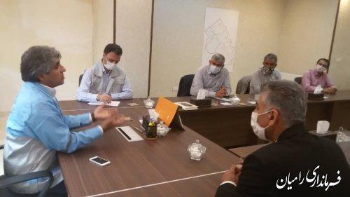 تشکیل کمیته اضطراری ستاد مدیریت بحران شهرستان رامیان