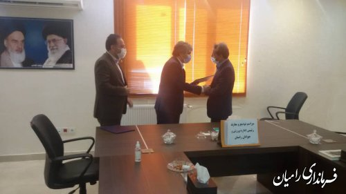 برگزاری تودیع و معارفه رئیس جدید اداره ورزش و جوانان