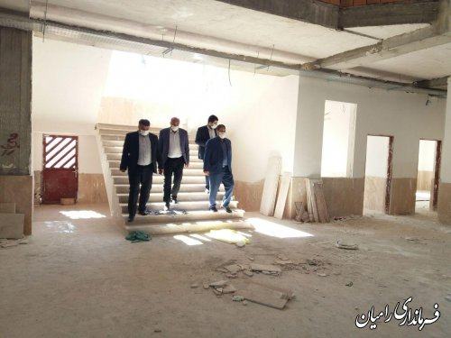 بازدید فرماندار رامیان از شهرداری و شورای شهر خان ببین