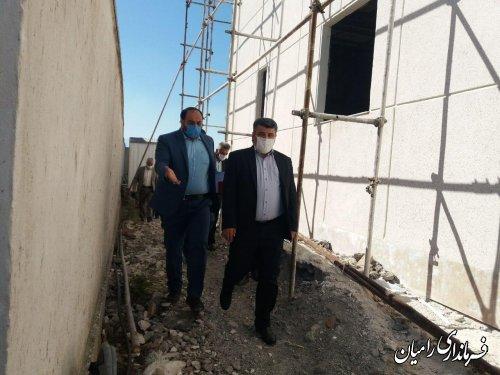 دیدار فرماندار رامیان با سرکار خانم کشمیری مدیرکل فرهنگ و ارشاد اسلامی استان