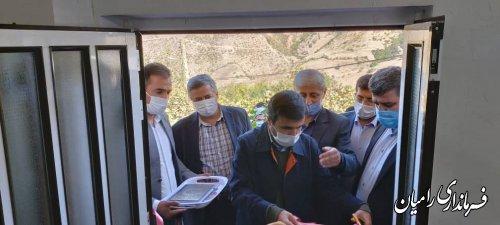 اولین واحد ساخته شده توسط بنیاد مسکن در روستای زلزله زده قورچای افتتاح شد