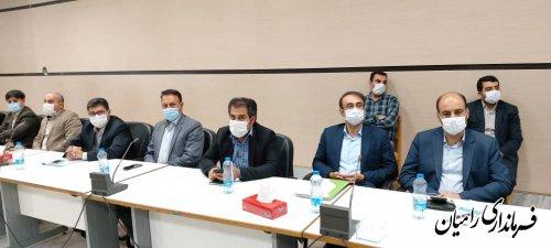 برگزاری جلسه شورای اداری شهرستان رامیان با حضور عضو هیئت رئیسه مجلس شورای اسلامی