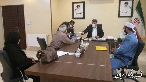ملاقات عمومی فرماندار رامیان با مردم شریف شهرستان برگزار گردید