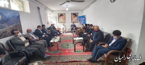 برگزاری جلسه شورای فرهنگ عمومی شهرستان رامیان
