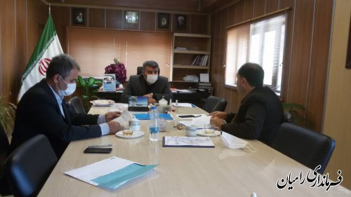 برگزاری جلسه رسیدگی به مشکلات روستاهای زلزله زده بخش مرکزی رامیان