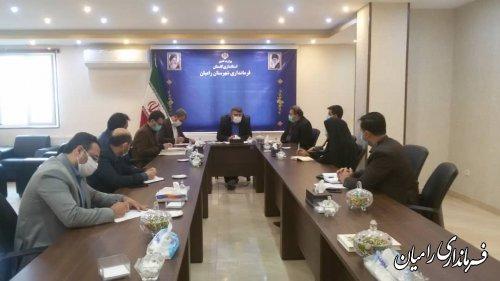 جلسه بررسی طرح های اشتغال زای شهرستان برگزار شد.