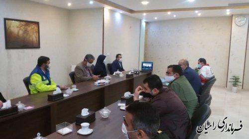 برگزاری جلسه ویدئو کنفرانس تبیین طرح سپهبد شهید حاج قاسم سلیمانی